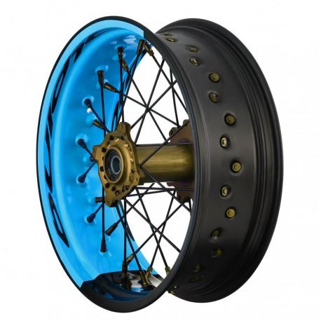 Supermoto aluminium wheels for KTM 990 ADV